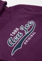 Aca Joe - Pre-girls fleece hoodie - purple