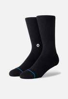Stance Socks - Icon socks - black