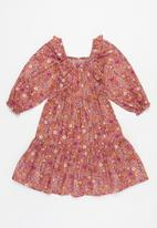 Cotton On - Jenna long sleeve dress - multi