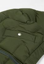 Ruby Tuesday - Crop puffer jacket - khaki