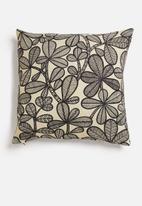Hertex Fabrics - Gala cushion cover - charcoal