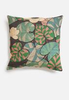 Hertex Fabrics - Igor cushion cover - chocolate