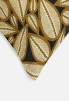 Hertex Fabrics - Karina cushion cover - golden oak