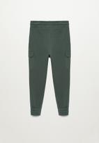 MANGO - Mario trousers - khaki