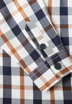 MANGO - Baby boys long sleeve check shirt - multi