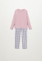 MANGO - Square pyjamas - pink