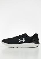 Under Armour - UA charged rogue 2.5 - black & white