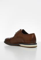 POLO - Edward leather casual lace up - brown