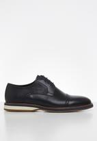 POLO - Edward leather casual lace up - navy