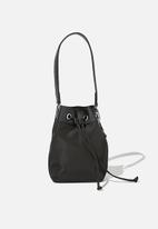 Rubi - Nylon bucket bag - black