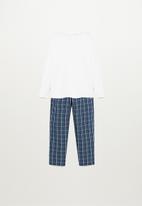 MANGO - Luis pyjama pack - navy