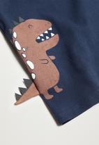 MANGO - Dino long sleeve tee - navy