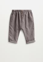 MANGO - Alfred trousers - pastel grey