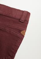 MANGO - Cord trousers - medium purple