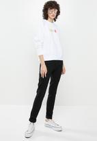 Levi's® - Graphic everyday crew love fleece - white