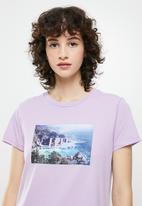 Levi's® - The perfect tee serif - purple