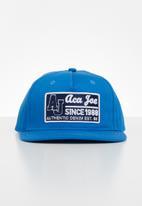 Aca Joe - Mens Aca joe 5 panel cap - blue