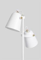 Present Time - Steady floor lamp - white