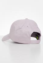 Nike - U nsw df h86 metal swoosh cap - iced lilac/white
