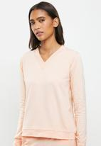 STRONG by T-Shirt Bed Co. - Ladies basic - peach