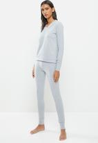 STRONG by T-Shirt Bed Co. - Ladies basic - grey