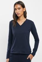 STRONG by T-Shirt Bed Co. - Ladies basic - navy