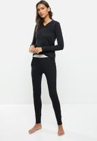 STRONG by T-Shirt Bed Co. - Ladies jogger - black