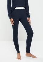 STRONG by T-Shirt Bed Co. - Ladies jogger - navy