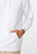 Cotton On - Essential fleece pullover - white