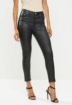 Glamorous - Petite coated jeans - black