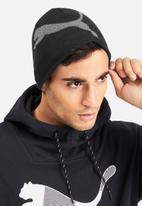 PUMA - Essential logo beanie  - black