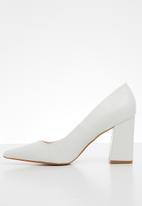Superbalist - Nolline  block heel - white