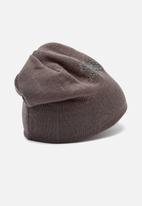 PUMA - Essential logo beanie - grey