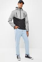 Brave Soul - Reflex jacket - black & grey