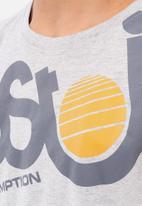 Ripstop - Plantan short sleeve tee - grey