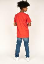 Ripstop - Simba printed tee - red