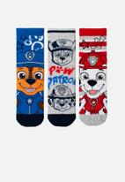 Character Group - Paw patrol 3 pack anklet socks - multi