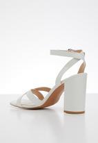 Superbalist - Fenne block heel - white