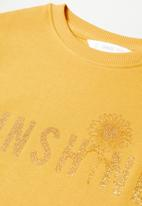 MANGO - Dublini sweatshirt - yellow