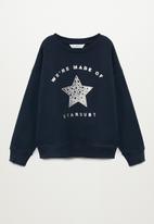 MANGO - Dublini sweatshirt - navy