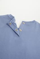 MANGO - Paul long sleeve tee - blue