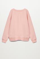 MANGO - Dublini sweatshirt - pastel pink