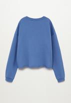 MANGO - Venice sweatshirt - blue