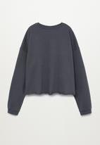 MANGO - Venice sweatshirt - charcoal
