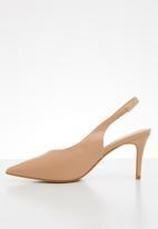 edit - Azal stiletto heel - natural