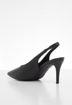 edit - Azal stiletto heel - black