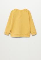 MANGO - Mires8 sweatshirt - yellow