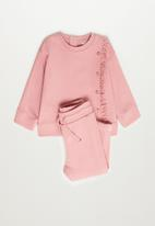 MANGO - Saturn sweatshirt - bright pink