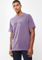 Levi's® - Short sleeve relaxed fit tee - purple