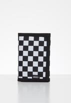 Vans - Slipped wallet - black & white